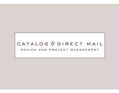 Catalog and Direct Mail Design