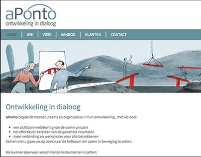 Een website voor aPonto.be