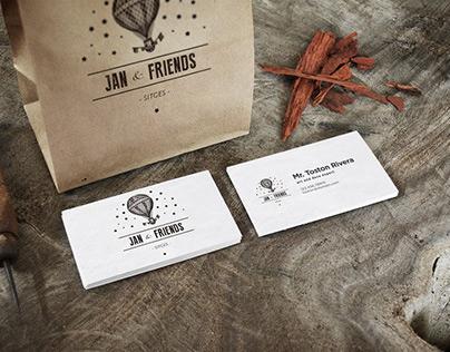 Jan & Friends / BRANDING