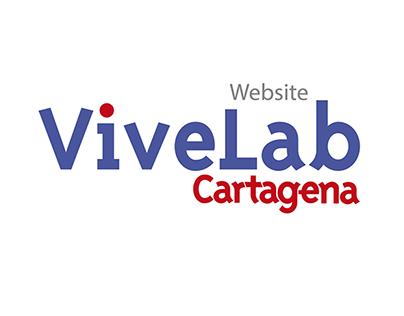 Website, Vivelab Cartagena