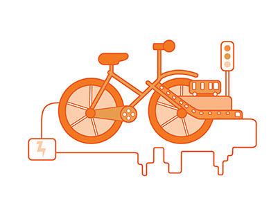 Project Efisio - Smart City Illustration