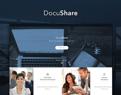 DocuShare - Website Design