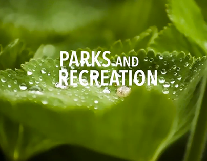 Parks and Recreation Opening Titles Mock