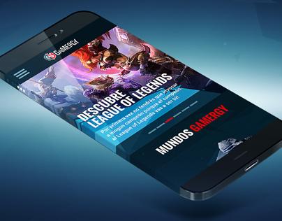 GAMERGY 2014 - Responsive Design