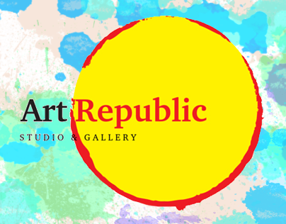 Art Republic website design