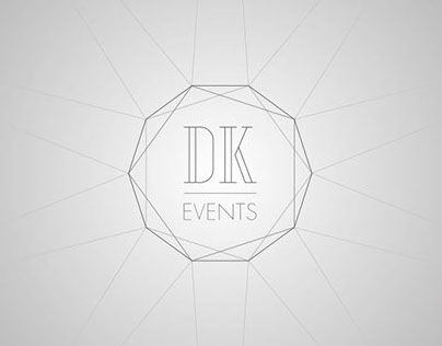 DK Events identity