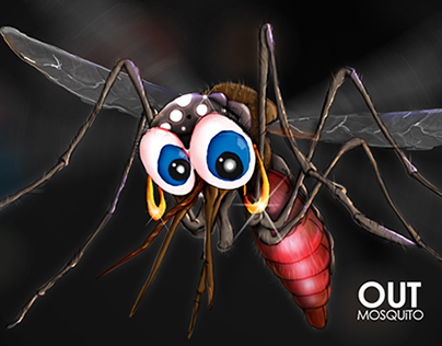 Out Mosquito Concept