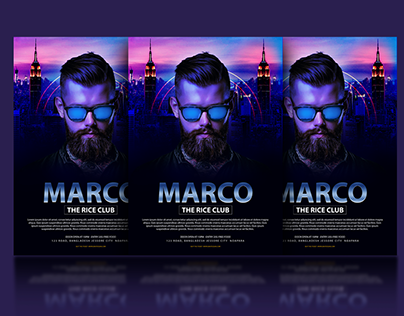 Club Flyer Design in Photoshop