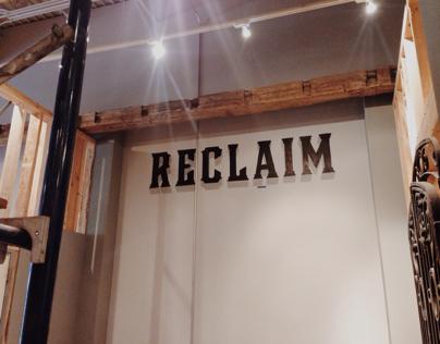 Reclaim Sign Painting