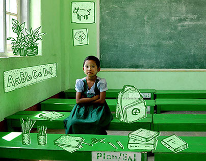 "Plan International ""Gifts of Hope"" Catalog Illustration"
