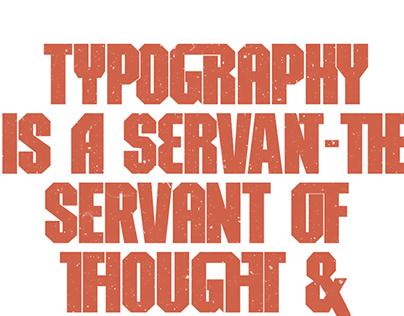 Maquina - Typography