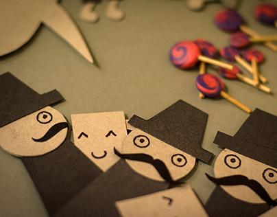 Lollypop Factory - A stop motion clip