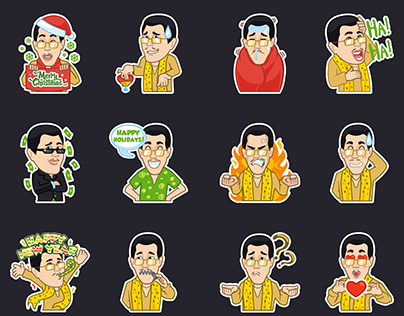 PPAP stickers set