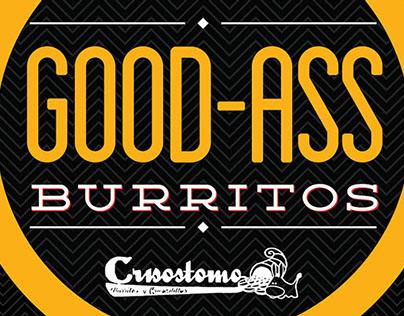 Burritos Crisostomo Branding