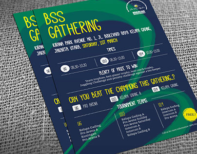 BSS Gathering -Soccer school