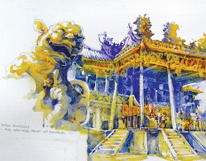 Khor Kong Si chinese tample - Penang,Malaysia