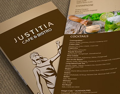 Justitia Drink Menu