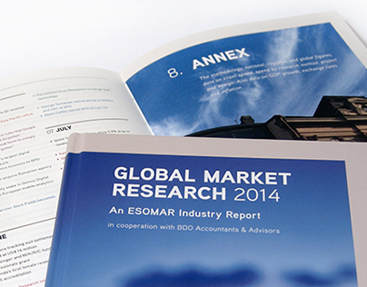 'Global Market Research 2014' book design