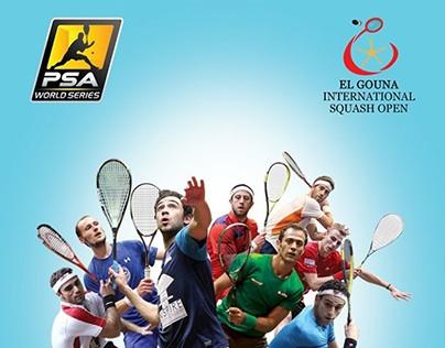 El Gouna International Squash open 2014