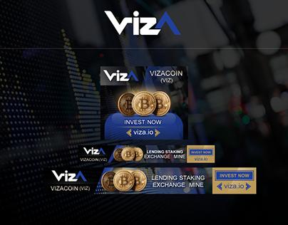 ออกแบบ Banner GIF Viza