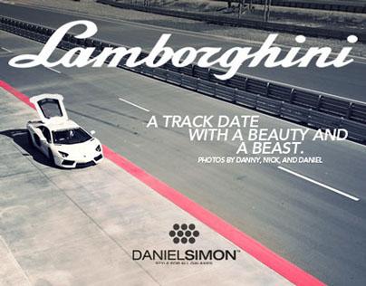A Track Date with Lamborghini.