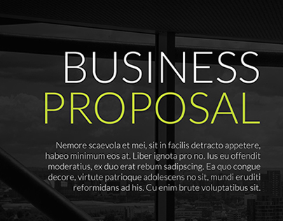 Business proposal - Barba