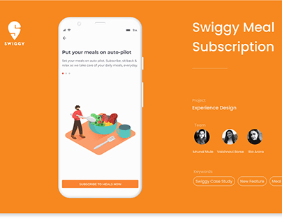 Swiggy Meal Subscription