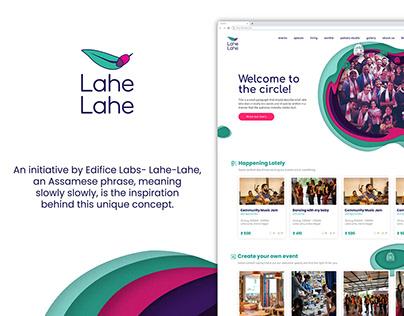 Lahe Lahe | UI/UX design