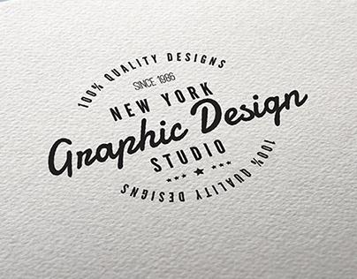 Customizable Retro Style Insignias