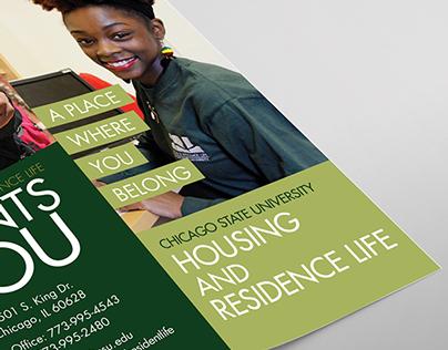 CSU Housing and Residence Life Brochure