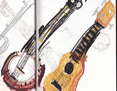 Summer Sketchbook 14'