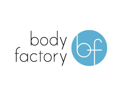 2012. Body Factory Logo / Identity.