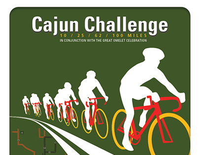 2012. Cajun Challenge Print.
