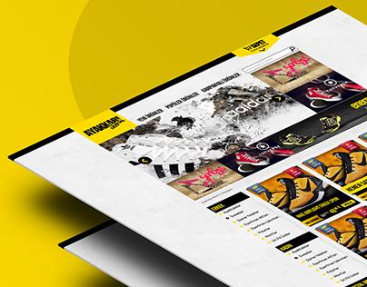 Ayakkabı Alemi Online Store UI/UX Design