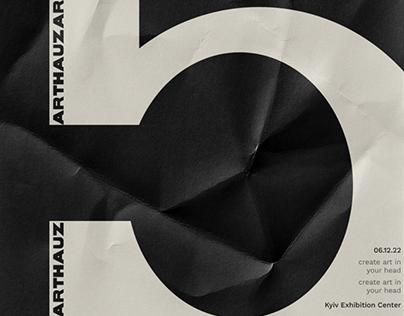 Poster design ARTHAUZ