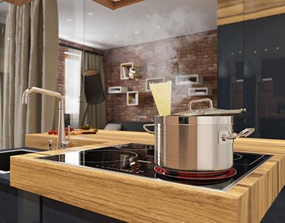 #90 - Garshina - Kitchen