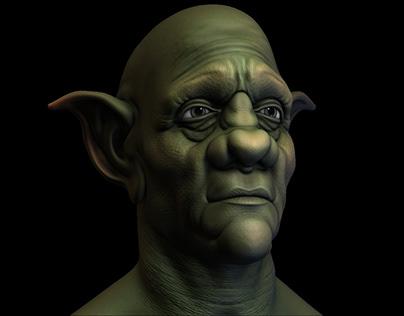 Aged Goblin Sketch