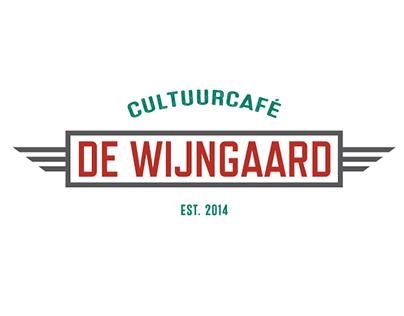 """Identity """"Cultuurcafé De Wijngaard"""""""