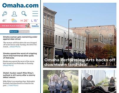 Newspaper Website Re-Design