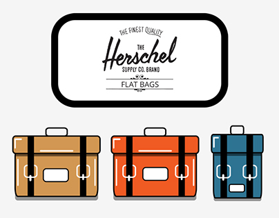 The Herschel Flat Bags