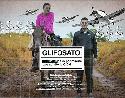 Glifosato | Motion Graphics