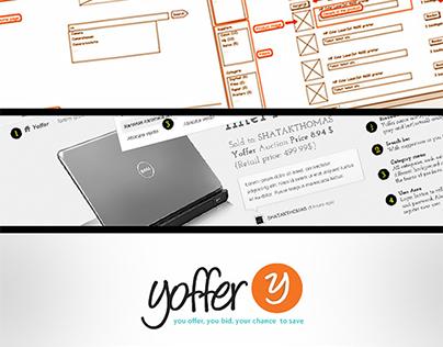 Yoffer.nl (brand + Interface Design)