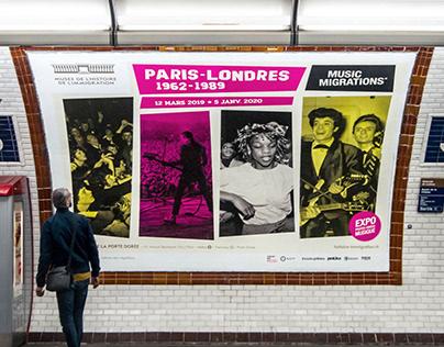 Paris-Londres 1962-1989