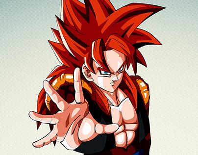 Ilustración Vectorial │ Dragon Ball Z