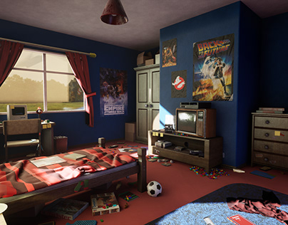 80s Bedroom - Final Game Project