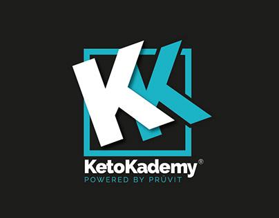 KetoKademy® badge logo