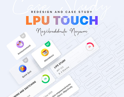 Student App Redesign and Case Study