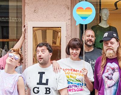 WE LOVE LGBTQIA