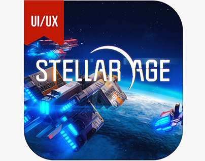 Stellar Age - mobile MMO Strategy (GAME UX & UI design)