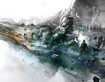 《星际迷航III超越星辰》中国定制版海报